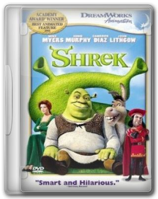 Capa do Filme Shrek 1