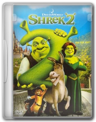 Capa do Filme Shrek 2