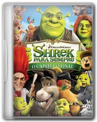 Capa do Filme Shrek para Sempre