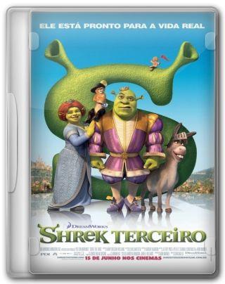 Capa do Filme Shrek Terceiro