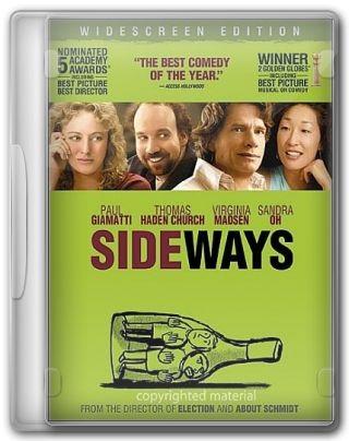 Capa do Filme Sideways Entre Umas e Outras