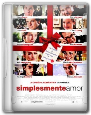 Capa do Filme Simplesmente Amor