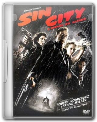 Capa do Filme Sin City - A Cidade do Pecado