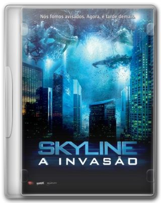 Capa do Filme Skyline A Invasão