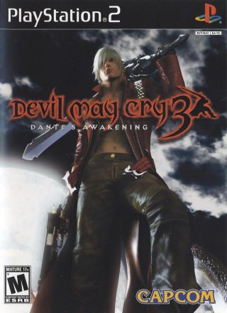 Capa Jogo Devil May Cry 3 Dantes Awakening PS2