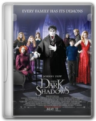 Capa do Filme Dark Shadows
