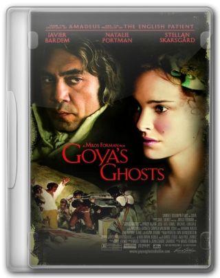 Capa do Filme Sombras de Goya