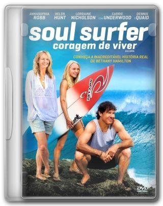 Capa do Filme Soul Surfer Coragem de Viver