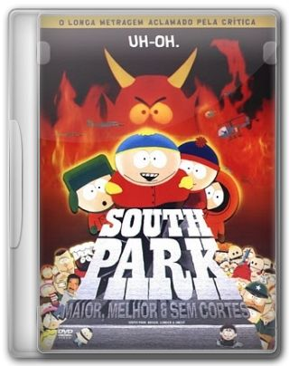 Capa do Filme South Park: Maior, Melhor e Sem Cortes