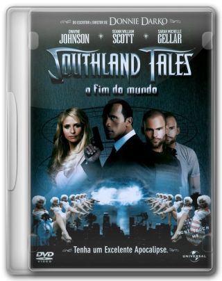 Capa do Filme Southland Tales O Fim do Mundo