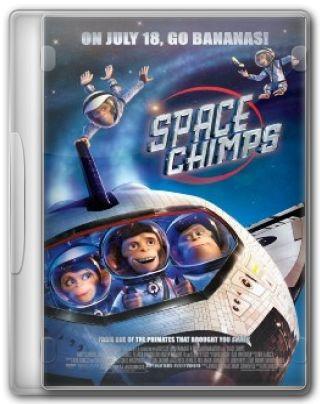 Capa do Filme Space Chimps Micos no Espaço