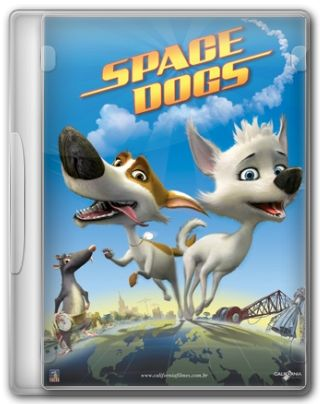 Capa do Filme Space Dogs