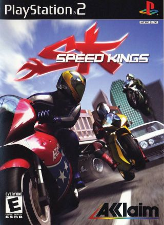 Capa Jogo Speed Kings PS2