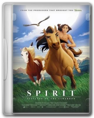 Capa do Filme Spirit O Corcel Indomável