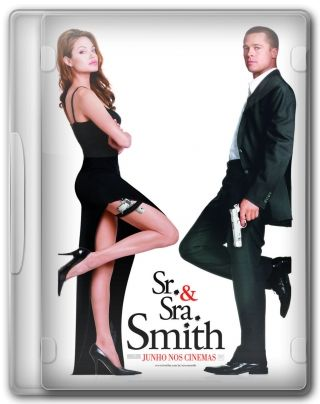 Capa do Filme Sr & Sra Smith