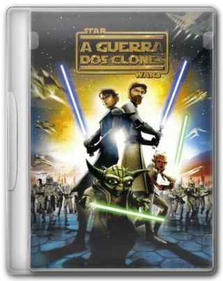 Capa do Filme Star Wars A Guerra dos Clones
