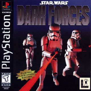 Capa Jogo Star Wars Dark Forces PS1