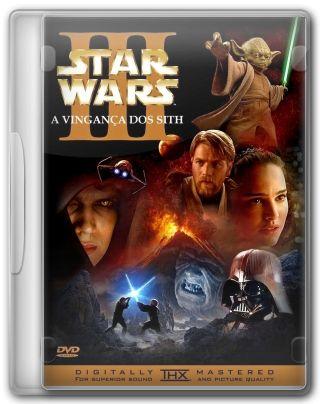 Capa do Filme Star Wars Episódio 3 A Vingança dos Sith