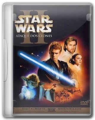 Capa do Filme Star Wars: Episódio II Ataque dos Clones