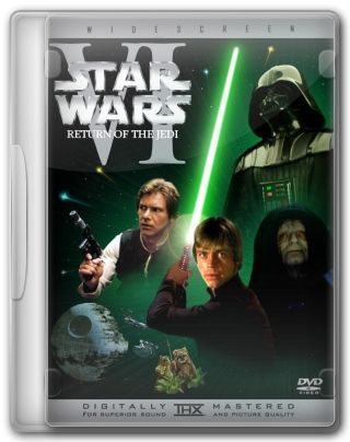 Capa do Filme Star Wars, Episódio VI - O Retorno do Jedi