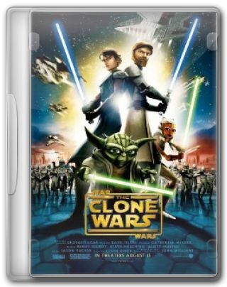 Capa do Filme Star Wars: The Clone Wars