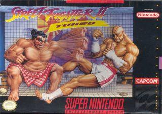 Street Fighter II Turbo Hyper Fighting SNES ROMS