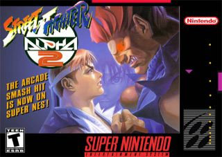 Street Fighter Alpha 2 SNES ROMS