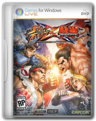 Capa Street Fighter X Tekken PC Cover