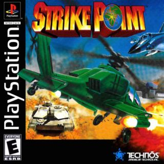 Capa Jogo Strike Point PS1