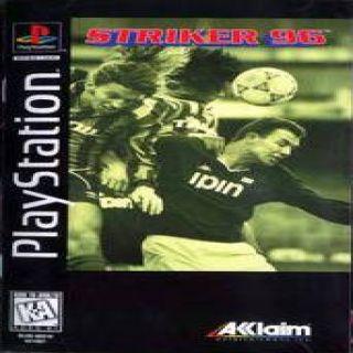 Capa Jogo Striker 96 PS1