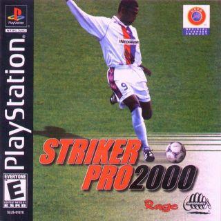 Capa Jogo Striker Pro 2000 PS1