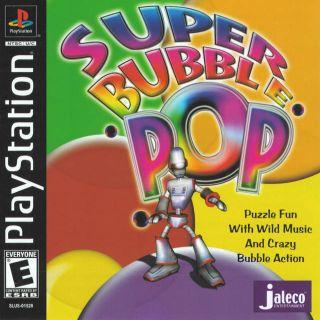 Capa Jogo Super Bubble Pop PS1