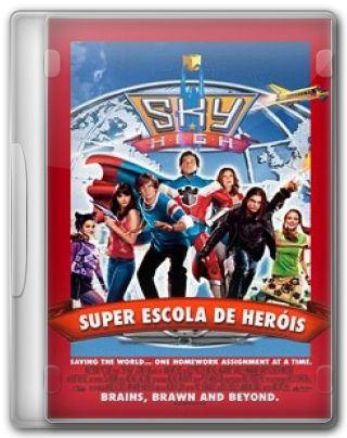 Capa do Filme Super Escola de Heróis