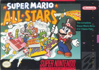 Super Mario All Stars SNES ROMS
