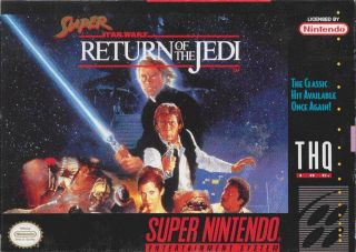 Super Star Wars Return of the Jedi SNES ROMS