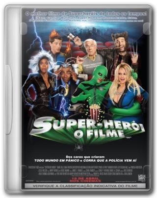 Capa do Filme Super-Herói: O Filme