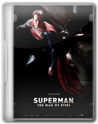 Capa do Filme Superman O Homem de Aço