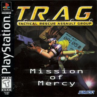 Capa Jogo T.R.A.G Mission of Mercy PS1