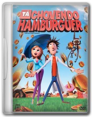 Capa do Filme Ta Chovendo Hamburguer