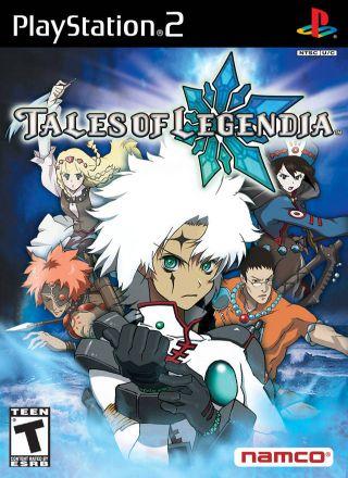 Capa Jogo Tales of Legendia PS2