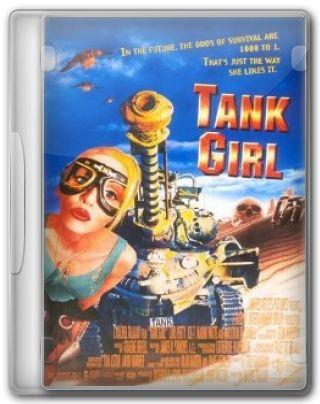 Capa do Filme Tank Girl Detonando o Futuro