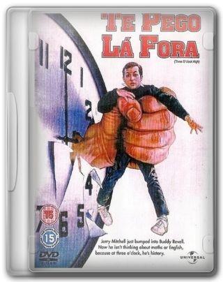 Capa do Filme Te Pego Lá Fora