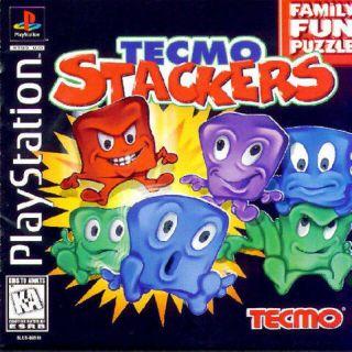 Capa Jogo Tecmo Stackers PS1