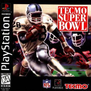 Capa Jogo Tecmo Super Bowl PS1