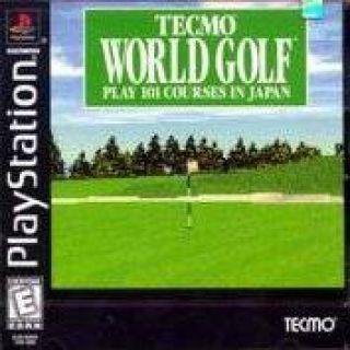 Capa Jogo Tecmo World Golf Japan PS1