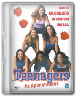 Capa do Filme Teenagers As Apimentadas