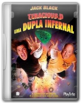 Capa do Filme Tenacious D Uma Dupla Infernal