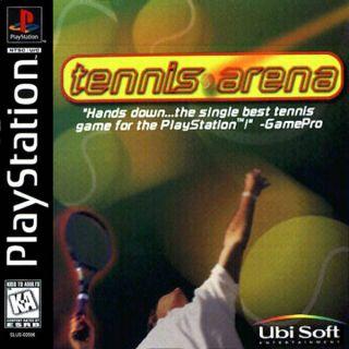 Capa Jogo Tennis Arena PS1