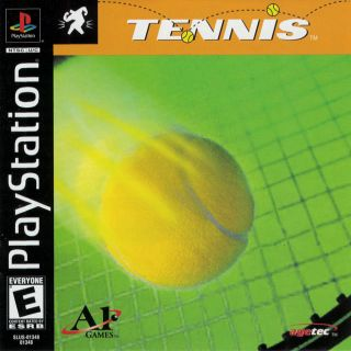 Capa Jogo Tennis PS1