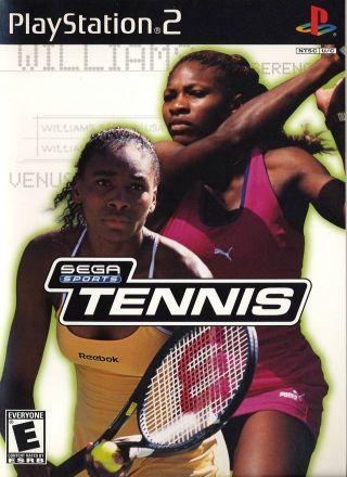 Capa Jogo Tennis Sega Sports PS2